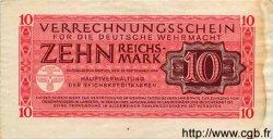 10 Reichsmark ALLEMAGNE  1944 P.M40 TTB