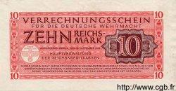 10 Reichsmark ALLEMAGNE  1944 P.M40 SUP