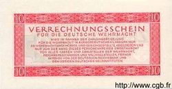 10 Reichsmark ALLEMAGNE  1944 P.M40 NEUF