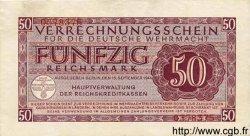 50 Reichsmark ALLEMAGNE  1944 P.M41 TTB+ à SUP