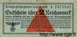 2 Reichsmark ALLEMAGNE  1939 R.519a B