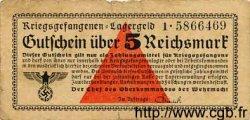 5 Reichsmark ALLEMAGNE  1939 R.520 TB
