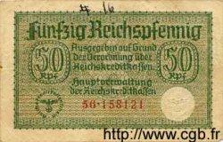 50 Reichspfennig ALLEMAGNE  1940 P.R135 TB