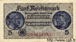 5 Reichsmark ALLEMAGNE  1940 P.R138b TTB