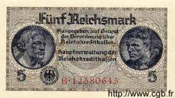 5 Reichsmark ALLEMAGNE  1940 P.R138b pr.NEUF
