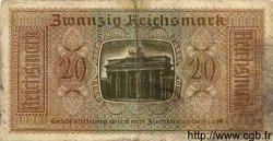 20 Reichsmark ALLEMAGNE  1940 P.R139 B