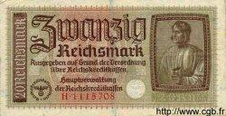 20 Reichsmark ALLEMAGNE  1940 P.R139 TTB