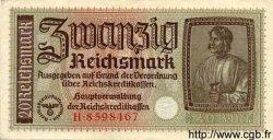 20 Reichsmark ALLEMAGNE  1940 P.R139 SPL