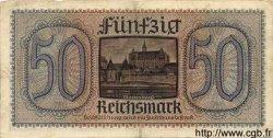 50 Reichsmark ALLEMAGNE  1940 P.R140 TB à TTB