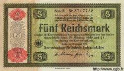 5 Reichsmark ALLEMAGNE  1934 P.207 pr.SPL