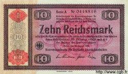 10 Reichsmark ALLEMAGNE  1934 P.208 SUP+