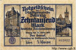 10000 Mark DANTZIG  1923 P.17