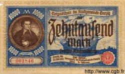 10000 Mark DANTZIG  1923 P.18 TTB