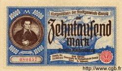 10000 Mark DANTZIG  1923 P.18 SUP+ à SPL