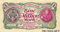 1 Million Mark DANTZIG  1923 P.24a pr.TTB