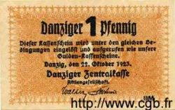 1 Pfennig DANTZIG  1923 P.32 pr.NEUF