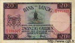 20 Gulden DANTZIG  1932 P.60 pr.TTB