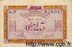 25 Centimes ALLEMAGNE  1923 R.857a TTB