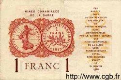 1 Franc ALLEMAGNE  1930 R.866 TTB