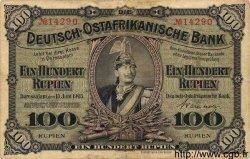100 Rupien AFRIQUE DE L