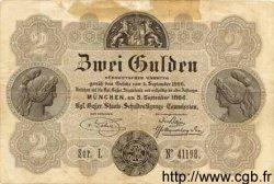 2 Gulden ALLEMAGNE  1866 PS.0151 TTB+