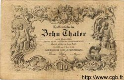 10 Thaler ALLEMAGNE  1855 PS.0307 pr.TTB