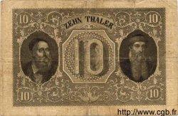 10 Thaler ALLEMAGNE Hesse 1855 PS.0307 pr.TTB