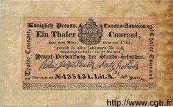 1 Thaler ALLEMAGNE  1824 PS.0396 TTB+