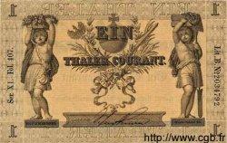 1 Thaler ALLEMAGNE  1856 PS.0409 TTB à SUP