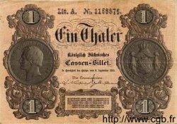 1 Thaler ALLEMAGNE  1855 PS.0624 TTB+
