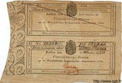 3 Francs ALLEMAGNE  1820 PS.0802 TTB