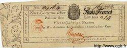 6 Francs ALLEMAGNE  1814 PS.0811 SUP