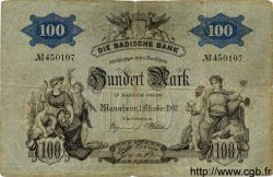 100 Mark ALLEMAGNE  1902 PS.0905 TB