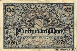 500 Mark ALLEMAGNE Mannheim 1922 PS.0908 TTB