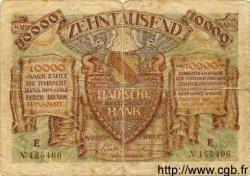 10000 Mark ALLEMAGNE Mannheim 1923 PS.0910 TB