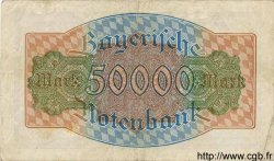 50000 Mark ALLEMAGNE Munich 1923 PS.0927 TTB