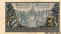 100000 Mark ALLEMAGNE Munich 1923 PS.0928 TTB+