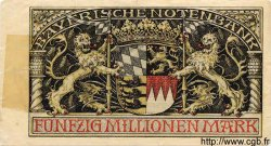 50 Millionen Mark ALLEMAGNE  1923 PS.0934 pr.TTB