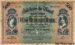 500 Mark ALLEMAGNE Dresden 1922 PS.0954b B