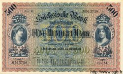 500 Mark ALLEMAGNE Dresden 1922 PS.0954b NEUF