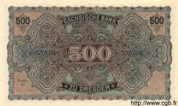 500 Mark ALLEMAGNE  1922 PS.0954b NEUF