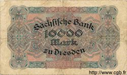 10000 Mark ALLEMAGNE Dresden 1923 PS.0958 pr.TB