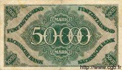 50000 Mark ALLEMAGNE Dresden 1923 PS.0959 TTB