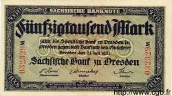 50000 Mark ALLEMAGNE Dresden 1923 PS.0959 SUP+