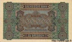 100000 Mark ALLEMAGNE  1923 PS.0960 SPL