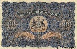 100 Mark ALLEMAGNE Stuttgart 1911 PS.0979b pr.SUP