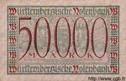 50000 Mark ALLEMAGNE  1923 PS.0984 TTB