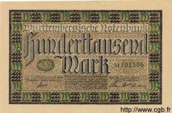 100000 Mark ALLEMAGNE  1923 PS.0985 SUP+