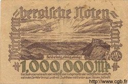 1 Million Mark ALLEMAGNE  1923 PS.0987 TTB