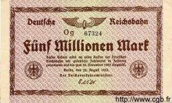 5 Millionen Mark ALLEMAGNE  1923 PS.1013b SPL